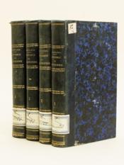 Histoire comparée des Systèmes de Philosophie, considérés relativement aux principes des connaissances humaines (4 Tomes - Complet) - Couverture - Format classique