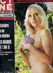 Cine Revue - Tele-Programmes - 51e Annee - N° 11 - Les Maries De L'An Ii - Couverture - Format classique