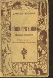 Hegesippe Simon - Homme Politique - Couverture - Format classique