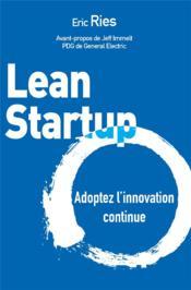 Lean startup - Couverture - Format classique