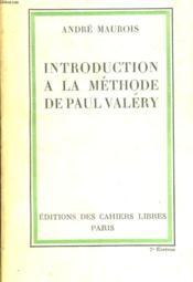 Introduction A La Methode De Paul Valery - Couverture - Format classique