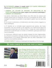 Dictionnaire complet des plantes médicinales ; 470 plantes & 300 pathologies traitées - 4ème de couverture - Format classique