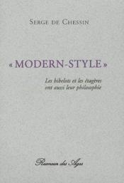 Modern-style - Couverture - Format classique