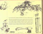 Robinson Crusoe. Mes Carnets De Croquis - 4ème de couverture - Format classique