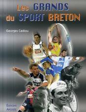 Les grands du sport breton - Intérieur - Format classique