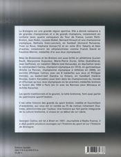 Les grands du sport breton - 4ème de couverture - Format classique