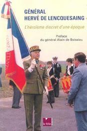 General Herve De Lencquesaing - Intérieur - Format classique