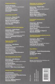 REVUE MENTAL N.20 ; psychanalystes en prise direct sur le social - 4ème de couverture - Format classique