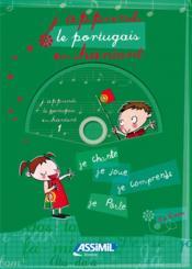 J'apprends le portugais en chantant - Couverture - Format classique