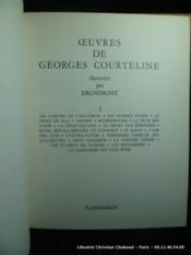 Oeuvres de Courteline. En 2 tomes. Complet. - Couverture - Format classique
