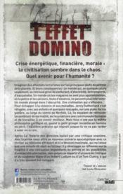 L'effet domino - 4ème de couverture - Format classique