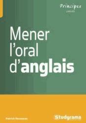 Mener l'oral d'anglais - Couverture - Format classique