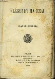 Kléber et Marceau. - Couverture - Format classique