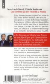 Ces femmes qui ont réveillé la France - 4ème de couverture - Format classique