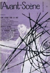 L'AVANT-SCENE - FEMINA-THEATRE N° 213 - LONG VOYAGE VERS LA NUIT d'EUGENE O'NIEL - Couverture - Format classique