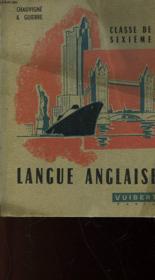 Langue Anglaise - Classe De 6° - Couverture - Format classique