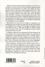 Baptiste - 4ème de couverture - Format classique