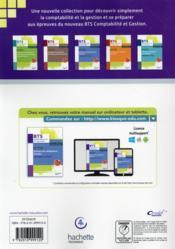 Processus 3 ; gestion des obligations fiscales ; BTS CGO ; livre de l'élève - 4ème de couverture - Format classique