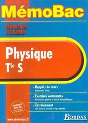 Memo physique term s - Intérieur - Format classique