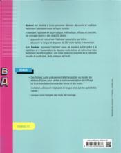 Boukvar ; le russe illustré lettre par lettre - 4ème de couverture - Format classique