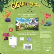 Gigantosaurus - 4ème de couverture - Format classique