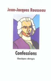 Confessions (les) - Couverture - Format classique