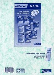 Comptabilité ; bac pro secrétariat ; 1ère et terminale professionnelles - 4ème de couverture - Format classique