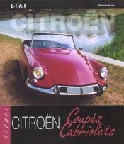 Citroen coupes et cabriolets - Intérieur - Format classique