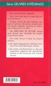 La curée ; d'Emile Zola - 4ème de couverture - Format classique