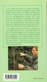 12 Mois De Jardinage - 4ème de couverture - Format classique
