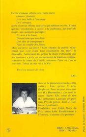 En Amont De L'Oubli - 4ème de couverture - Format classique