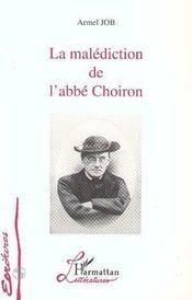 La malédiction de l'abbé Choiron - Intérieur - Format classique