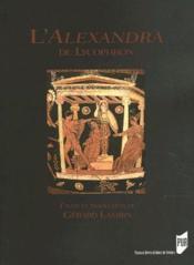 L'Alexandra de Lycophron - Couverture - Format classique