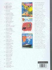 Ric Hochet ; INTEGRALE VOL.2 - 4ème de couverture - Format classique