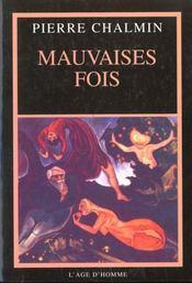Mauvaises Fois ; Journal 1995 - Intérieur - Format classique