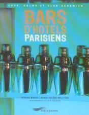 Bars d'hotels parisiens 2005 - Couverture - Format classique