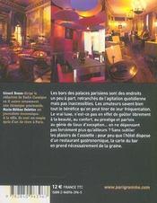 Bars d'hotels parisiens 2005 - 4ème de couverture - Format classique
