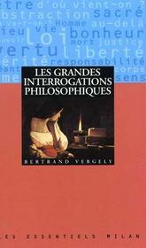 Grandes Interrogations Philosophiques (Les) - Intérieur - Format classique
