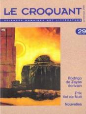 REVUE LE CROQUANT N.29 ; Rodrigo de Zayas ; prix vol de nuit - Couverture - Format classique