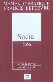 Memento social - Intérieur - Format classique