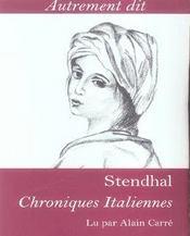 Chroniques italiennes - Intérieur - Format classique