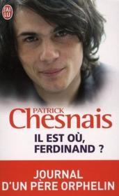 telecharger Il est ou, Ferdinand ? journal d'un pere orphelin livre PDF en ligne gratuit