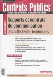 Revue Actualite Commande Contrats Publics N.134 - Couverture - Format classique