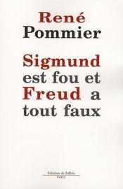 Sigmund est fou et Freud a tout faux - Intérieur - Format classique