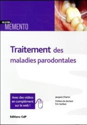 Traitement des maladies parodontales - Couverture - Format classique