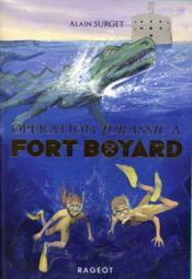 Opération Jurassic à Fort Boyard - Couverture - Format classique