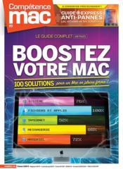 COMPETENCE MAC N.64 ; boostez votre Mac ; 100 solutions pour un Mac en pleine forme ! - Couverture - Format classique