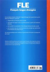Français langue étrangère ; la grammaire au quotidien ; manuel de grammaire communicative ; A1 - 4ème de couverture - Format classique