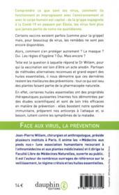 Tout savoir sur les virus et y faire face ; coronavirus, grippes, Ebola, SRAS et autres pathologies virales - 4ème de couverture - Format classique