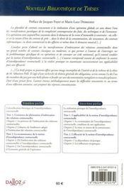 La notion d'interdépendance contractuelle ; contribution à l'étude des ensembles de contrats - 4ème de couverture - Format classique